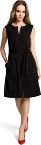 Sukienka MOE bez rękawów midi w stylu casual