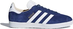 Trampki Adidas z płaską podeszwą gazelle sznurowane