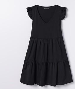 Sukienka Mohito oversize na ramiączkach z dekoltem w kształcie litery v