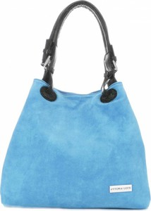 Błękitna torebka VITTORIA GOTTI