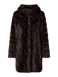 Brązowy płaszcz Pm w stylu casual