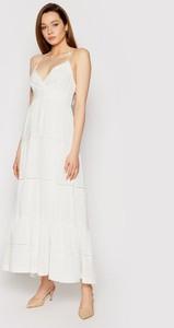 Sukienka Twinset na ramiączkach z dekoltem w kształcie litery v