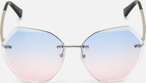 Różowe okulary damskie Cropp