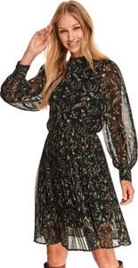 Sukienka Top Secret mini z długim rękawem w stylu casual
