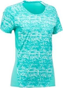 Turkusowy t-shirt Quechua