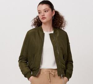 Zielona kurtka Cropp w stylu casual