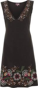 Czarna sukienka Coline mini