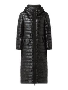 Czarny płaszcz S.Oliver w stylu casual