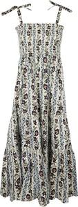 Sukienka Tory Burch z dekoltem w kształcie litery v