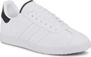 eobuwie.pl Buty adidas - Gazelle FU9666 Ftwwht/Ftwwht/Cblack