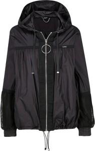 Czarna kurtka Liu Jo Sport w stylu casual
