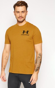 Żółty t-shirt Under Armour