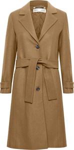 Brązowy płaszcz InWear