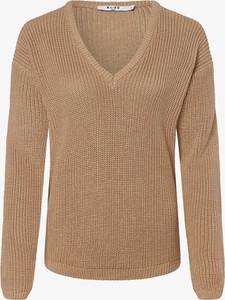 Brązowy sweter NA-KD