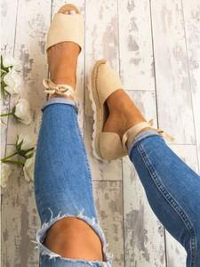 Sandały Elegrina ze skóry ekologicznej