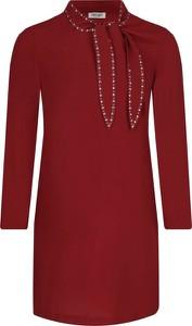 Czerwona sukienka Liu-Jo z golfem