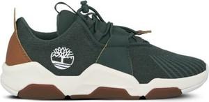 Buty sportowe dziecięce Timberland sznurowane z tkaniny