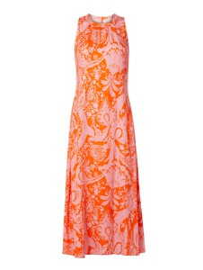 Pomarańczowa sukienka Emily van den Bergh maxi