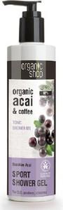ORGANIC SHOP Żel pod prysznic, tonizujący - Brazylijskie Jagody Acai - jagody acai i kawa, 280 ml