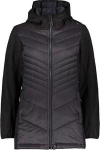 Granatowy płaszcz CMP w stylu casual