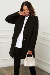 Płaszcz Le Comptoir Du Manteau w stylu casual z wełny