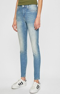Niebieskie jeansy Mustang z bawełny w street stylu