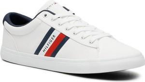 Tommy Hilfiger Tenisówki Essential Stripes Detal Sneaker FM0FM03389 Biały