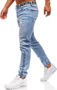 Jeansy Denley z jeansu