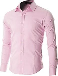 Różowa koszula Flatseven