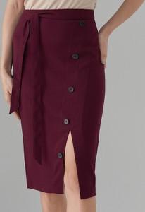 Czerwona spódnica Mohito