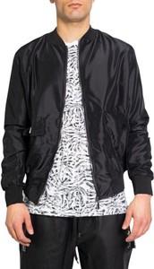 Czarna kurtka Kimik z bawełny w stylu casual