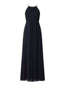 Granatowa sukienka Jake*s Cocktail bez rękawów maxi