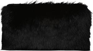 Czarna torebka Lavard do ręki ze skóry