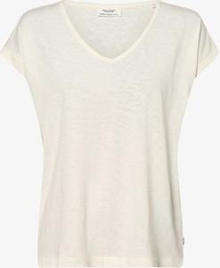 T-shirt Marc O'Polo DENIM z dekoltem w kształcie litery v z krótkim rękawem