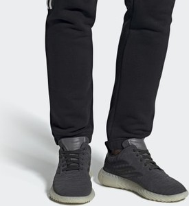Buty sportowe Adidas z zamszu sznurowane