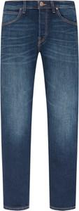 Niebieskie jeansy Lee w stylu casual