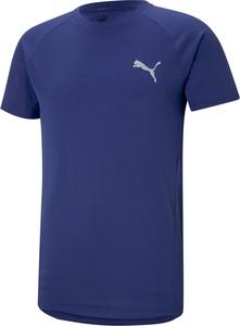 Niebieski t-shirt Puma