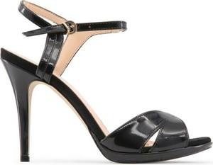 Sandały Made In Italia z klamrami ze skóry
