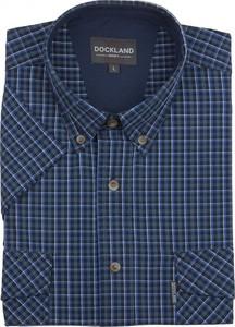 Granatowa koszula Dockland z bawełny