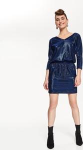 Granatowa sukienka Top Secret