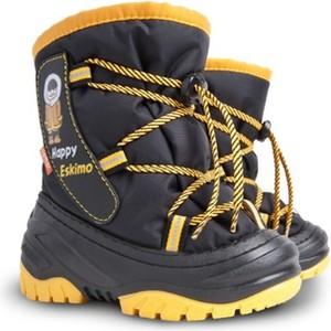 Buty dziecięce zimowe Demar dla chłopców z dzianiny