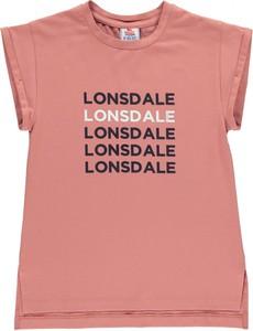 Koszulka dziecięca Lonsdale z krótkim rękawem