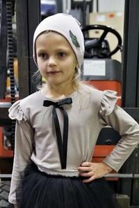 Bluzka dziecięca Mizerki Kids z długim rękawem