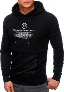 Czarna bluza Edoti z bawełny