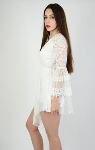 c72d85df5a Sukienka Olika z dekoltem w kształcie litery v z długim rękawem
