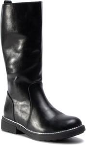 Czarne buty dziecięce zimowe Nelli Blu