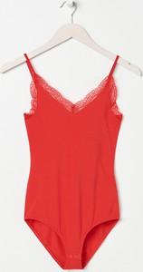 Czerwona bluzka Sinsay