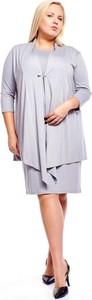 Sukienka Fokus z długim rękawem ołówkowa