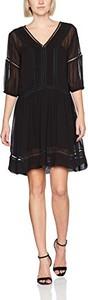 Czarna sukienka sisley