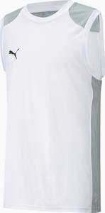 T-shirt Puma z dżerseju bez rękawów w sportowym stylu